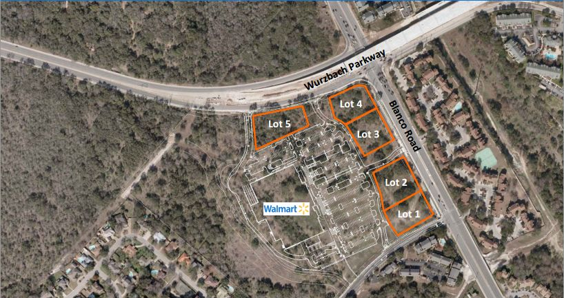 Blanco and Wurzbach, location of next Wal-Mart Supercenter ...
