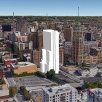 Proposed Villita Tower in downtown San Antonio