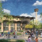 Rendering of Hemisfair development